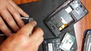 Sony Xperia V замена экрана