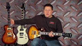 Epiphone Les Paul 1960 vs PRS SE 245 vs ESP LTD EC-401 Guitar Comparison with Mesa/Boogie Stiletto