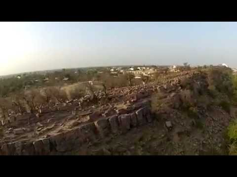 An Aerial Tour of Govardhan Near Govinda Kunda