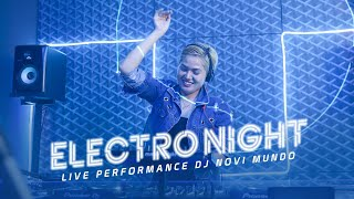 "Download Mp3 Dj Edm Novi Mundo "" Electro Night ""- Live Studio 2 Matalelaki 09/12/20"