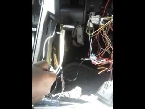 2004 dodge ram 1500 power lock and unlock alarm installation - YouTube