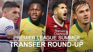Premier league transfer round-up - emre can leaves liverpool