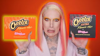 Cheetos Makeup... Is It Jeffree Star Approved?! Video