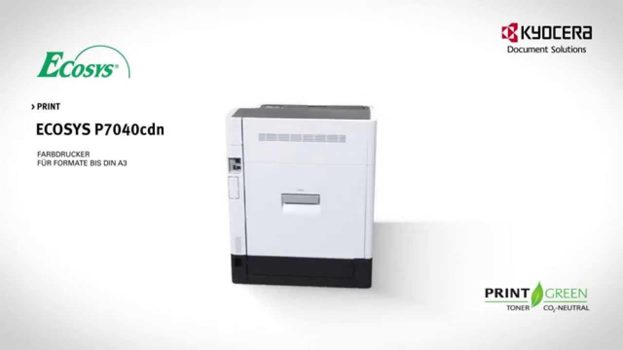 Kyocera Ecosys P7040cdn