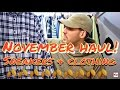 MENS FASHION CLOTHING HAUL, SNEAKERS & CLOTHING, WINTER FASHION, FLANNELS & JACKETS
