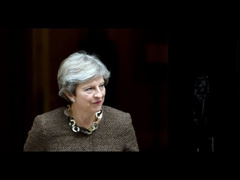 Theresa May speaks at the Bank of England – video