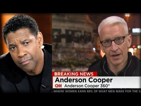 WHAT DENZEL WASHINGTON JUST SAID ABOUT 'FAKE NEWS' LEFT REPORTERS SPEECHLESS