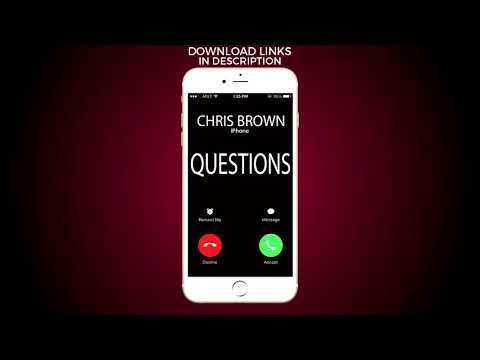 Questions Ringtone - Chris Brown