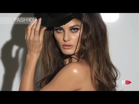ISABELI FONTANA represents October for PIRELLI CALENDAR 2015 by Fashion Channel