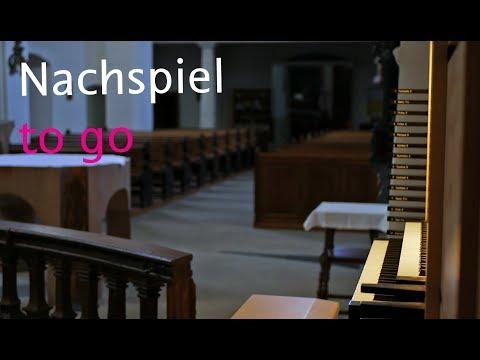 Nachspiel To Go - J. B. Bach, Contrapunctus XIII (Kunst Der Fuge)