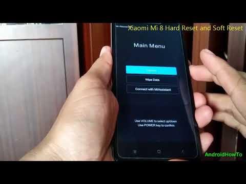 Xiaomi Mi 8 Hard Reset and Soft Reset