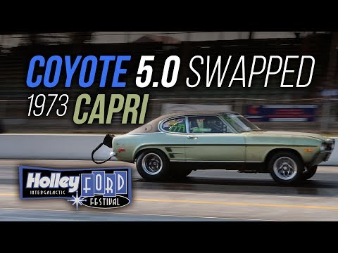 Coyote swapped Ford Capri at Ford Fest 2019