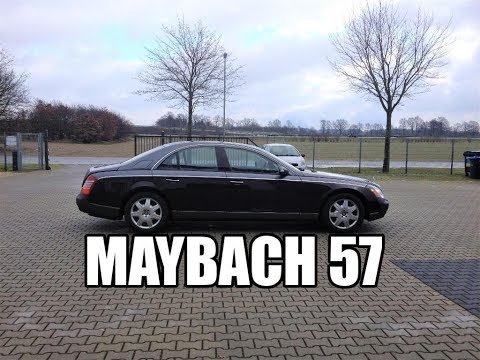 Maybach 57  it is so quiet! Review & Testdrive JMSpeedshop !