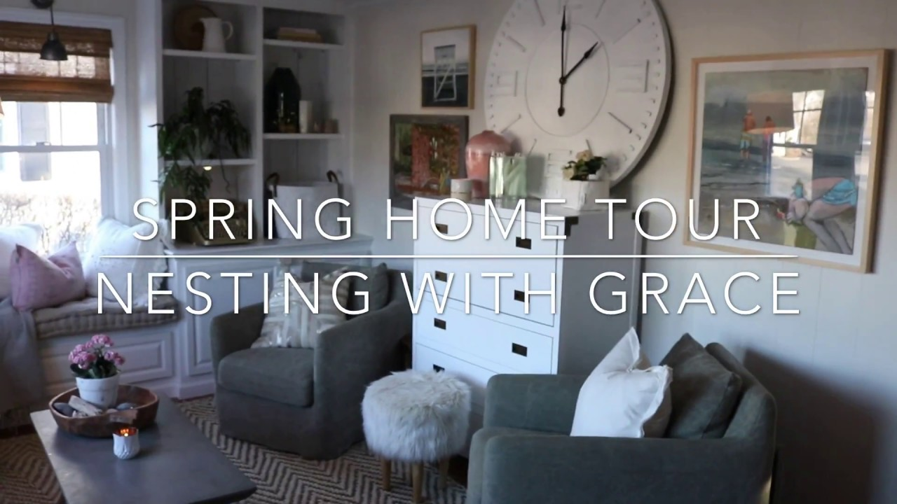 Home Tour- 1100 Square Foot Connecticut Cape. Nesting with Grace