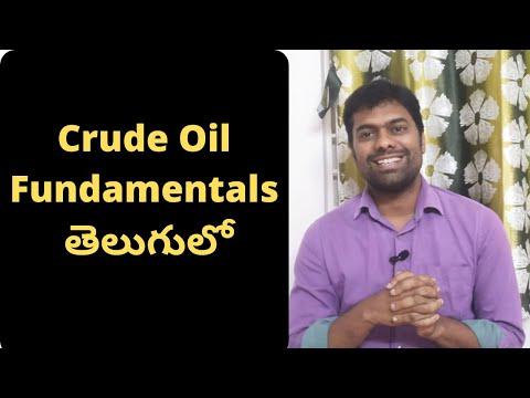 Crude Oil Fundamentals in Telugu