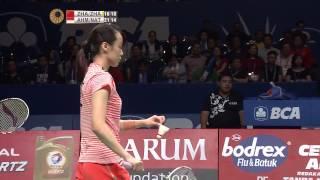 BCA Indonesia Open 2015 | Badminton SF M1-XD | Zhang Nan/Zhao YL vs T. Ahmad/L. Natsir