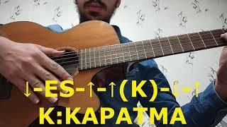 Eypio - Gömün Beni Çukura Gitar Dersi (Cover)