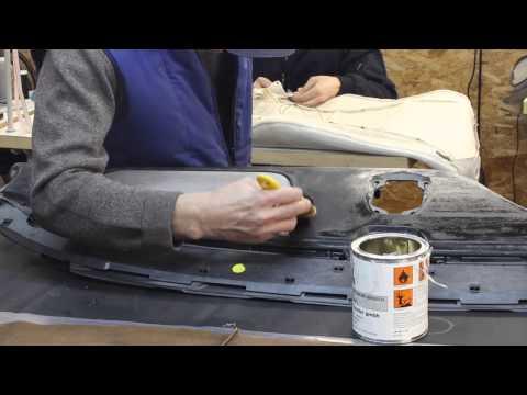 видео: Перетяжка торпеда кожей.
