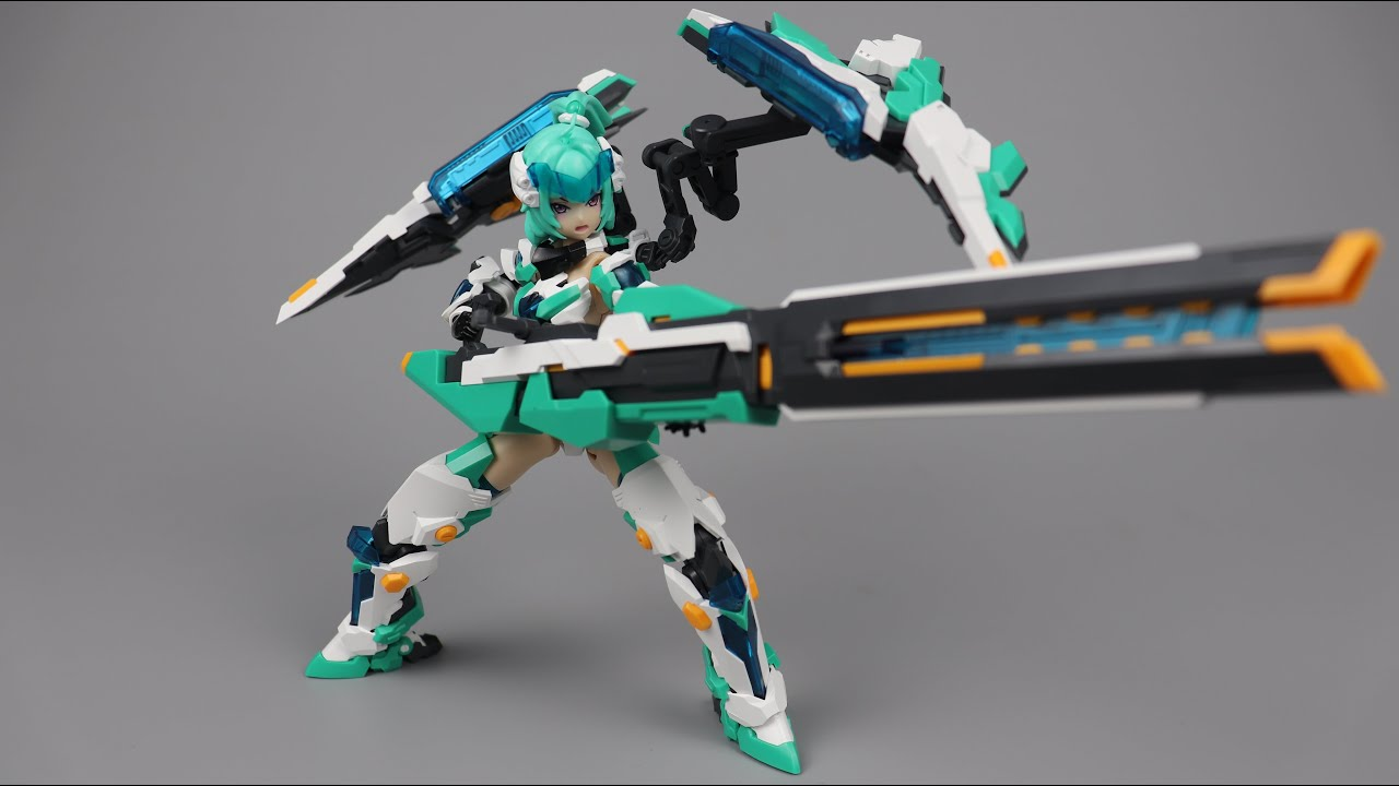 【型模玩赏】御模道E-MODEL A.T.K.GIRL玄武机娘XUANWU