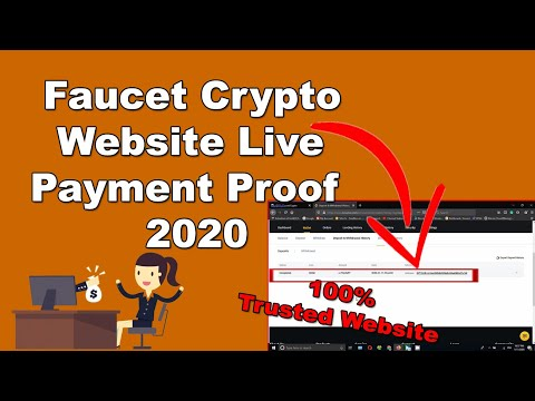 Faucet Crypto Website Live Payment Proof 2020