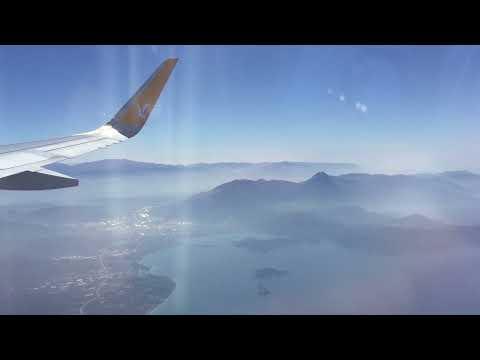 Landing to Sabiha Gökçen Airport by Pegasus