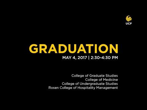 UCF Graduation: May 4, 2017 | PM