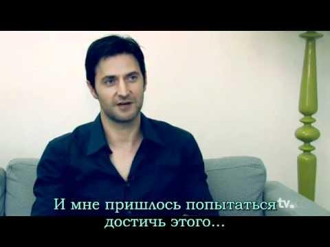 Richard Armitage's Interview Spooks. Russian subtitles