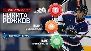 Лучший новичок МХЛ сезона 17/18 – Никита Рожков!