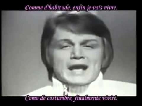 CASANOVAS MARKET (Claude François)    Comme d habitude subtitulos de español y frances