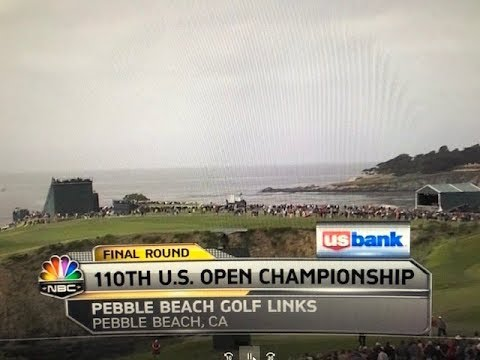 2010 US Open At Pebble Beach On NBC - Final Round