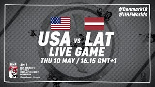 USA - Latvia | Full Game | 2018 IIHF Ice Hockey World Championship