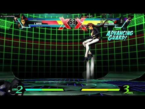 UMVC3 ImmaAriesBaby(Spen/Viper/Trish) vs Mod(Nova/Doom/Strid)  