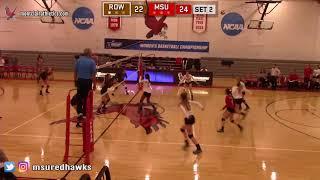 Montclair State Volleyball Highlights vs. Rowan - 9/25/18