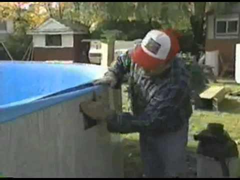 Installing an Aqua EZ Above Ground Pool