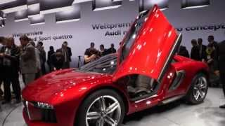 Audi Nanuk quattro Concept 2013 Videos
