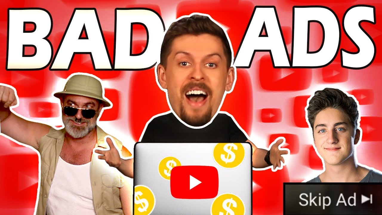 REVIEWING INAPPROPRIATE ADS YOUTUBE PROMOTED TO US - Bad Ads