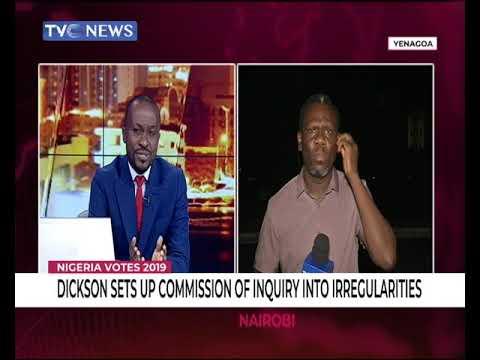 Ovieteme George speaks on Bayelsa commission of Enquiry