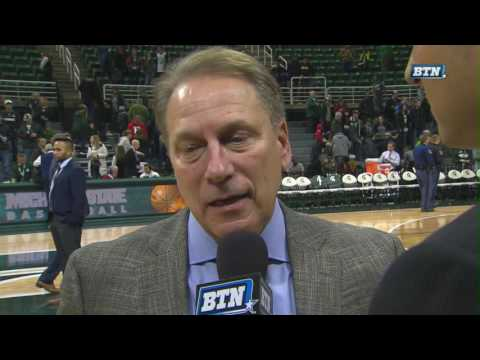 Tom Izzo Talks Miles Bridges, Win and More