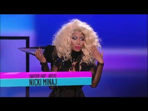 Nicki Minaj Wins RapHipHop Artist  AMA 2012