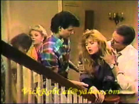 One Life To Live-Tina Comes Home & Kate Hits Virgil With Her Car 1987