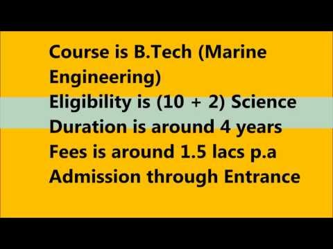 Marine Engineering as a course choice after 12th