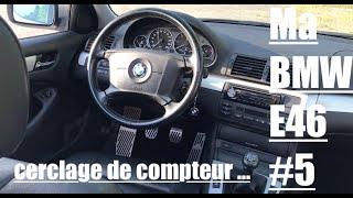 Ma BMW E46 #5 Cerclage de compteur / pédalier alu / logo et paillassons de porte xD