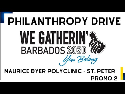 We Gatherin' - Philanthropy Drive - Maurice Byer Polyclinic - Child Reading Programme