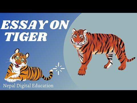 tiger essay in tamil