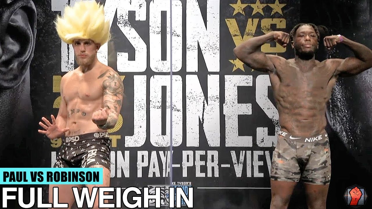 Download JAKE PAUL VS NATE ROBINSON | FULL WEIGH IN & FACE OFF VIDEO