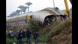 قطار البدرشين| تفاصيل حادث انقلاب قطار