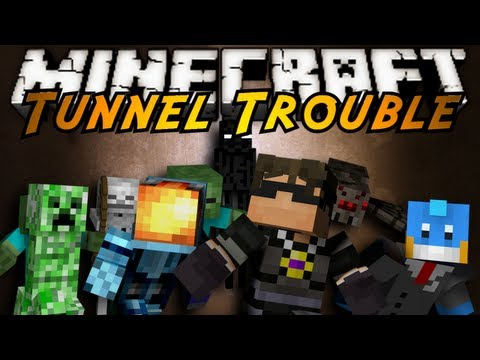 Minecraft Mini-Game : TUNNEL TROUBLE!