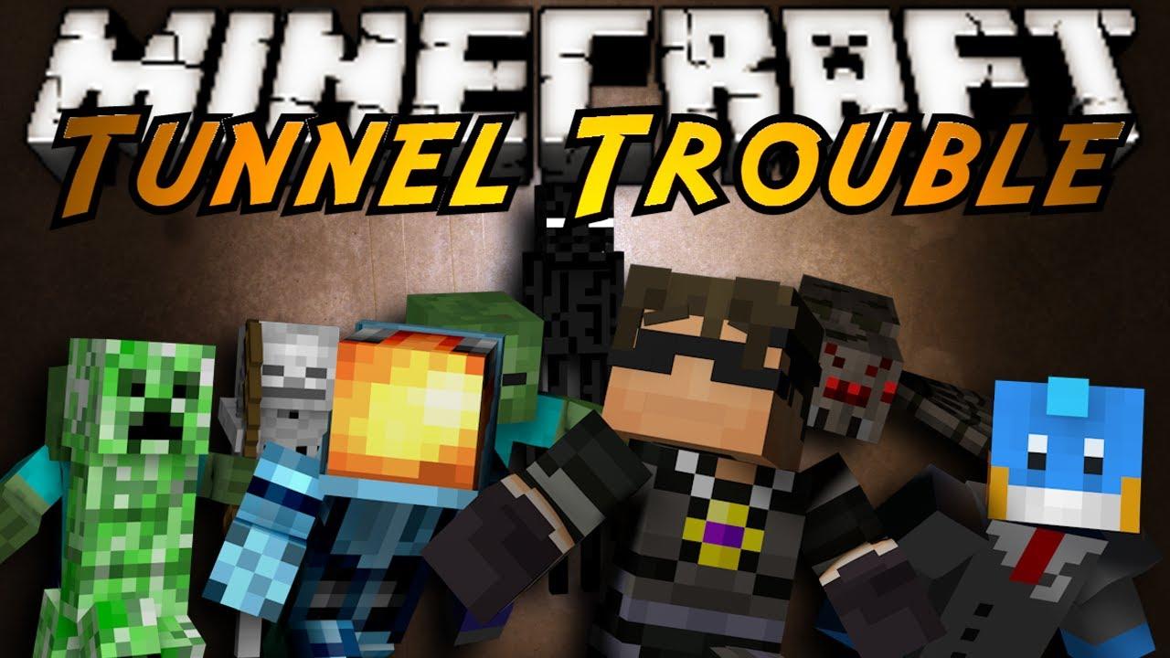 Minecraft Mini-Game : TUNNEL TROUBLE!