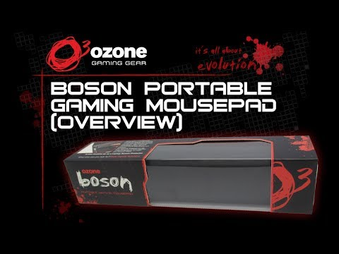 Ozone Boson Portable Gaming Mousepad [Overview]