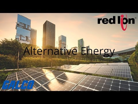 Alternative Energy is a Growing Sector of the World's Power Supply